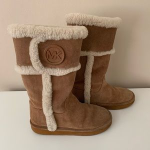 MICHAEL Michel Kors Suede Winter tall Boots